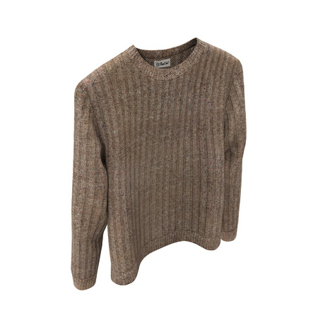 Blank Sweater on white. Front view. 3D illustration, Clipping Path Stock Photo