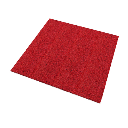 Rug isolated on white background. 3D illustration Imagens