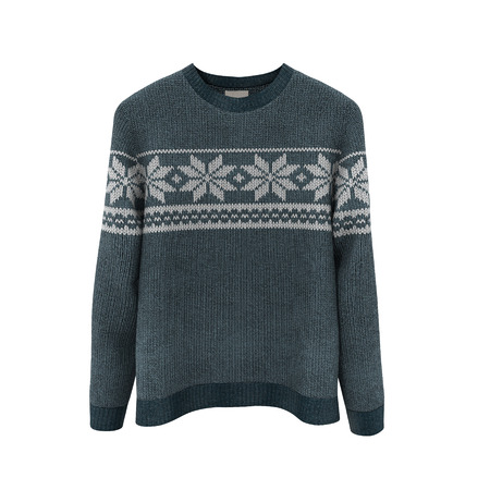 Sweater on white. 3D illustration, Clipping Path