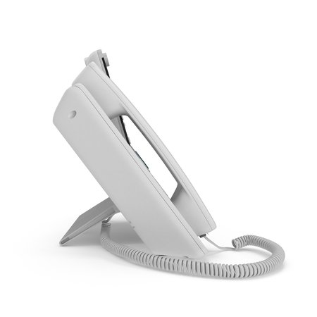 VOIP phone isolated on a white background. 3D illustration