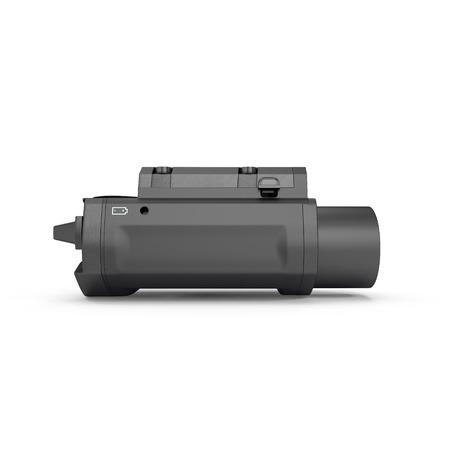 LED Tactical Weapon Light on white background. 3D illustration