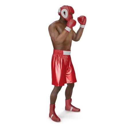 Danish african american amateur boxers