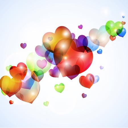 loe: colorful loe shape background Stock Photo