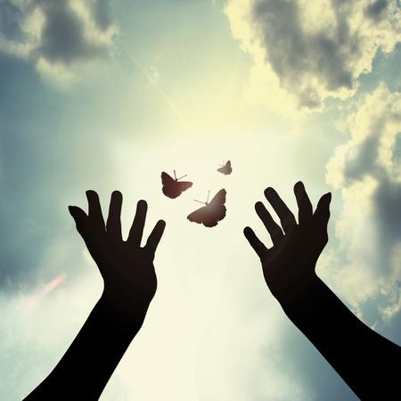 konzepte: geben neue Hoffnung Lizenzfreie Bilder