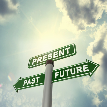 tomorrow: Present past future