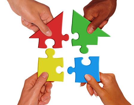 contribution: build a home Stock Photo