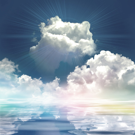 Shinning cloud