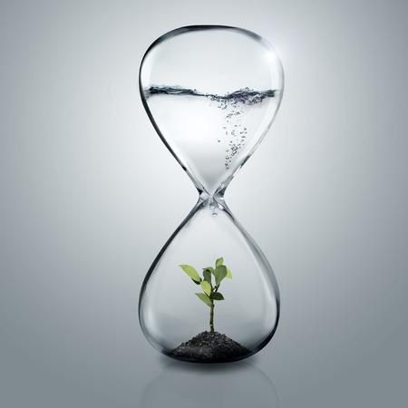 緑の水のガラス工場