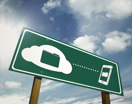 clouding: Clouding file sharing sign board