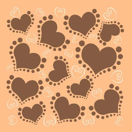 Love pattern background
