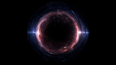 Time Warp Hole abstract background