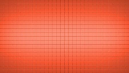3d render simple straight illustration of squares. Geometric abstract background of red color. Tile wallpaper 版權商用圖片