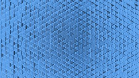Background made of plastic triangles. background. Illustration 3d visualization 版權商用圖片