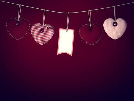 Hearts for Valentines Day Background photo