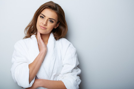 woman in spa: picture of beautiful woman beautiful woman in spa salon