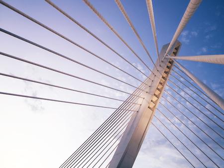 millennium bridge: Millennium bridge in Podgorica, Montenegro