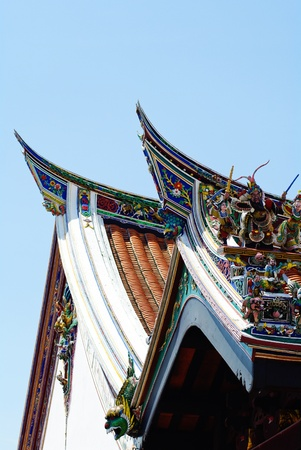 Cheng Hoon Teng temple roof photo