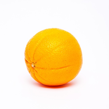 Fresh orange on white isolated blackground Stock Photo - 14512906