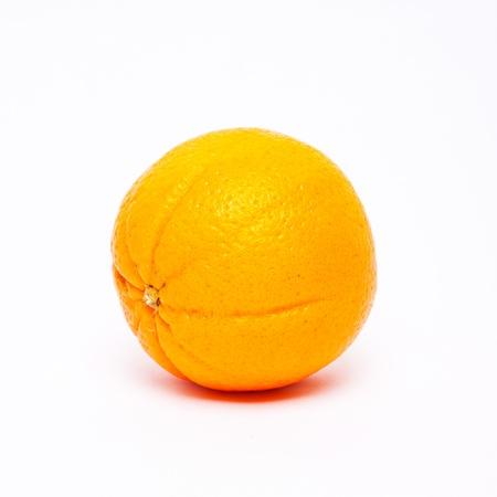 Fresh orange on white isolated blackground Stock Photo - 14512906