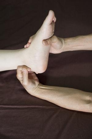 restore energy flow: reflexology foot massage, spa foot treatment