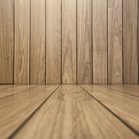 grungy wood: wall and floor siding wood background