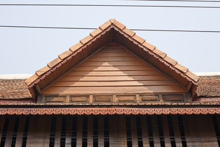 buddhist temple roof: Thai roof style
