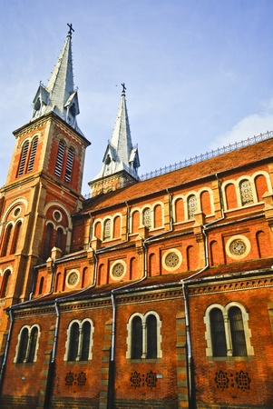vietnam culture: cathedral in Ho Chi Minh City, Vietnam