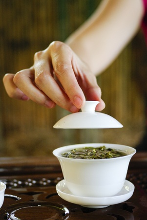 traditional china tea Stock Photo