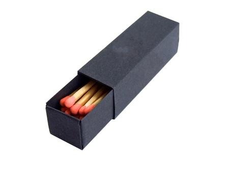 matchbox: black matchbox Stock Photo