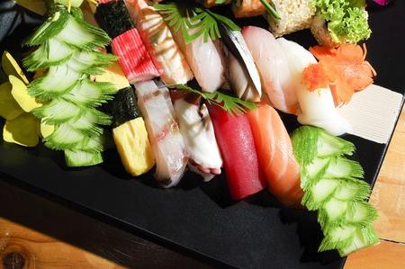 sashimi: Sushi Japanese food