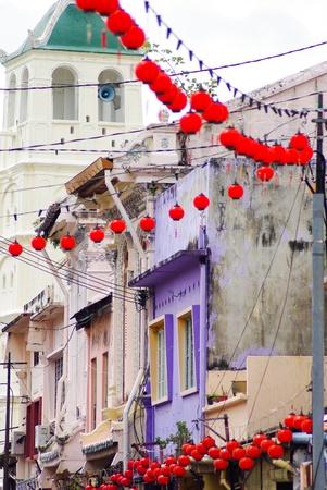 melacca: chinatown, Melacca, Malaysia