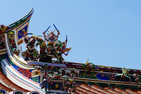 hoon: Malaysia Chinese  Cheng Hoon Teng  temple roof