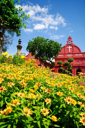 Historic Christ Church malacca, Malaysia photo