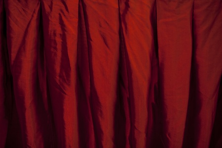 Red velvet curtain Stock Photo - 15695969
