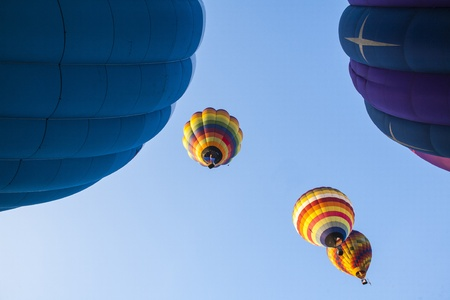 colorful hot air balloons Stock Photo - 17183188