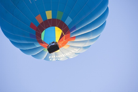 Hot Air Balloon on sky photo