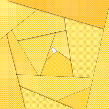 Yellow maze abstract background photo