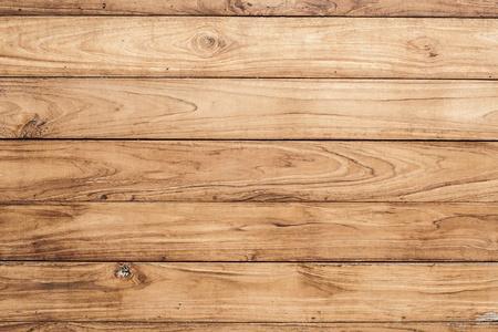 大きな茶色の木の板壁テクスチャ背景
