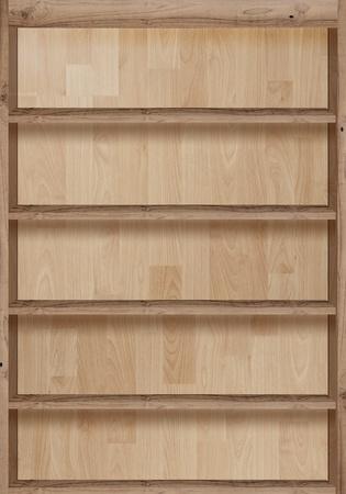 Wood bookshelves vintage retro Stock Photo - 19156829