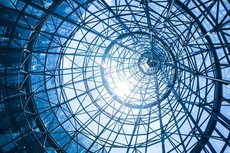 Résumé architecture bleu Banque d'images - 20625020