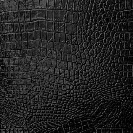 Zwart lederen textuur