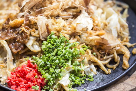 Yakisoba Japanese Noodles photo