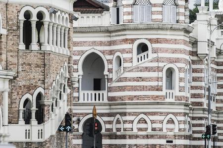 congregational: Sultan Abdul Samad building in Kuala Lumpur , Malaysia  Editorial