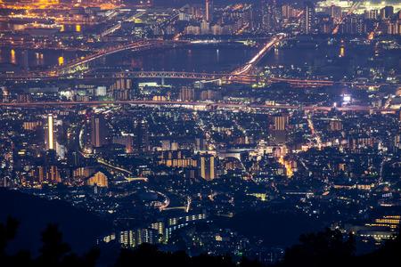 nishinomiya: 10 million dollars night view  KOBE  JAPAN