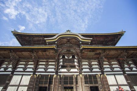 great hall: Todai-ji Temple. Nara. Japan