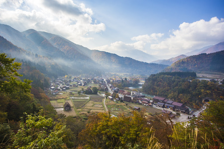 ogimachi: Traditional and historical japanese village ogimachi shirakawa-go japan