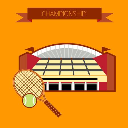 tennis stadium: Estadio de tenis Campeonato