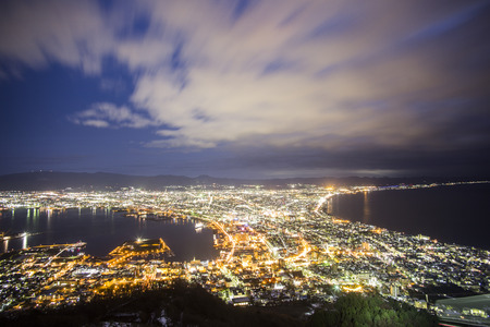 nightview: Hakodate viewpoint best top 3 nightview in Japan  Hakodate  Japan