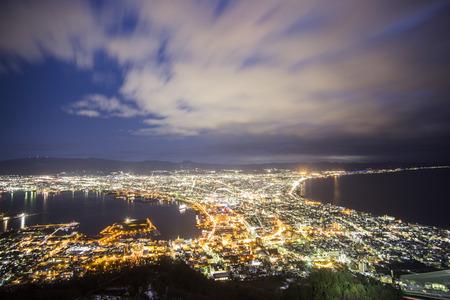 nightview: Hakodate viewpoint best top 3 nightview in Japan  Hakodate  Japan