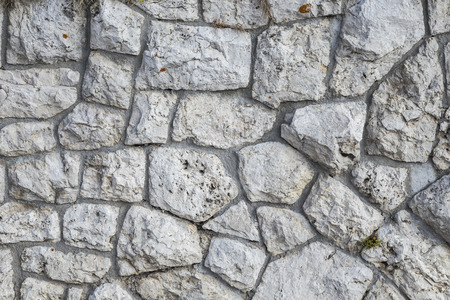 Big stone wall texture and background photo